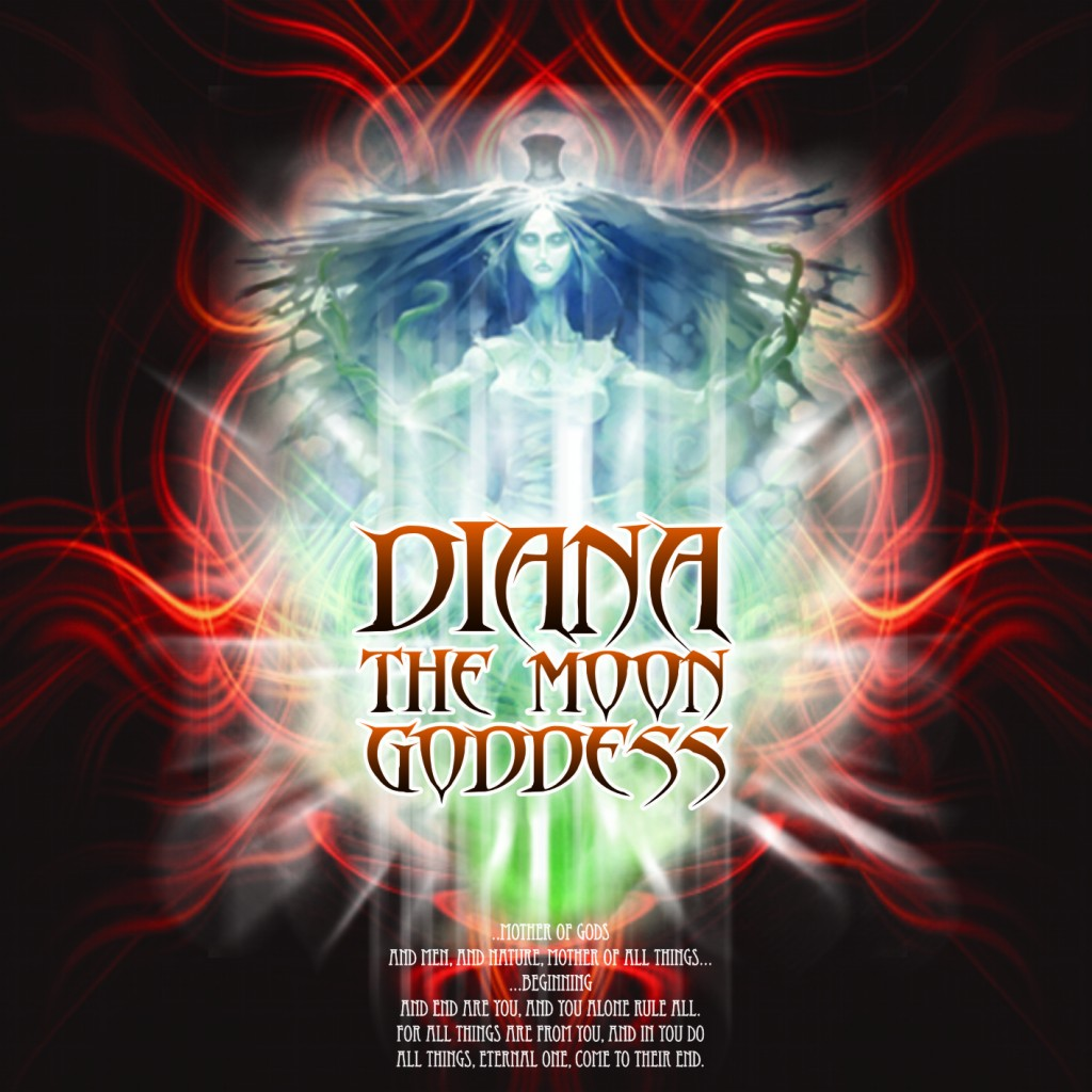 00 - Diana, The Moon Goddess - Image 1(Front)