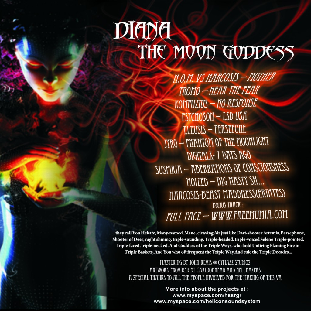 00 - Diana, The Moon Goddess - Image 2 (Back)