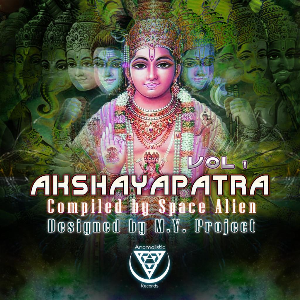 AKSHAYAPATRA VOL 1 cover
