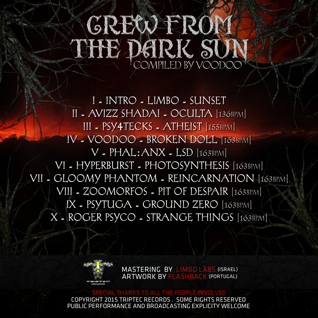 CREW FROM THE DARK SUN - BACK